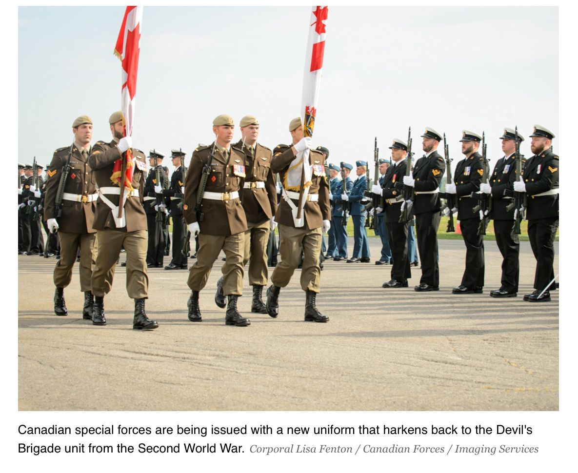 New CANSOFCOM Dress Uniform Seen During D-Day Commemorations