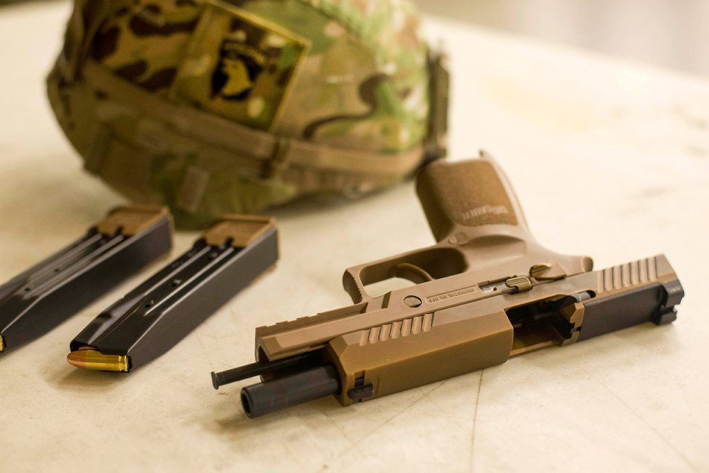 SIG SAUER Modular Handgun System Receives Full-Material